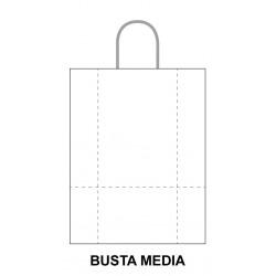 Busta Ritorta Bianca Media...