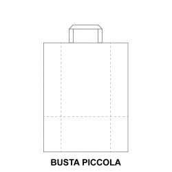 Busta Piatta Bianca Piccola...